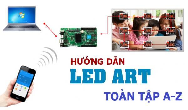 Hướng dẫn sử dụng Led ART Full AZ- Điều khiển led qua WIFI