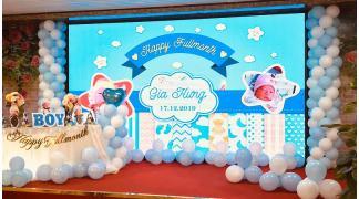 Màn hình LED P3 Nhà hàng Bia Vàng Quảng Ninh