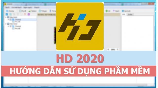 Cài Đặt Và Sử Dụng Phần Mềm HD 2020 Mới Nhất