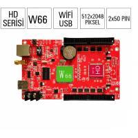 Card HD W66 - WIFI - Module 1 màu, 3 màu, full màu